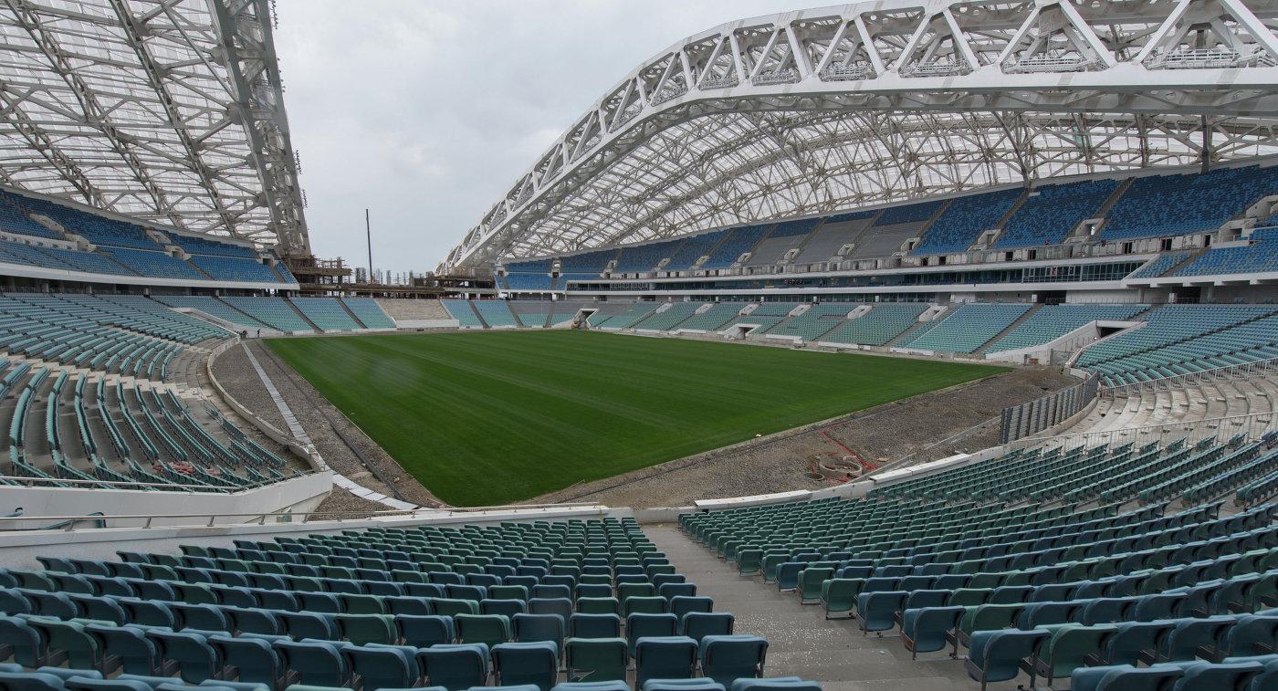 фото реконструкции фишт стадион