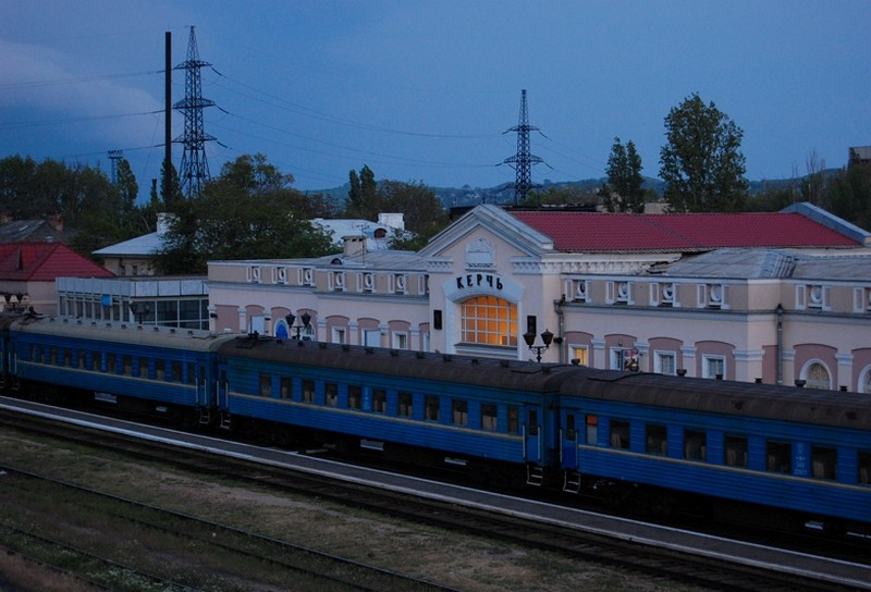 Стала известна стоимость билетов на поезд Анапа-Керчь по Крымскому мосту